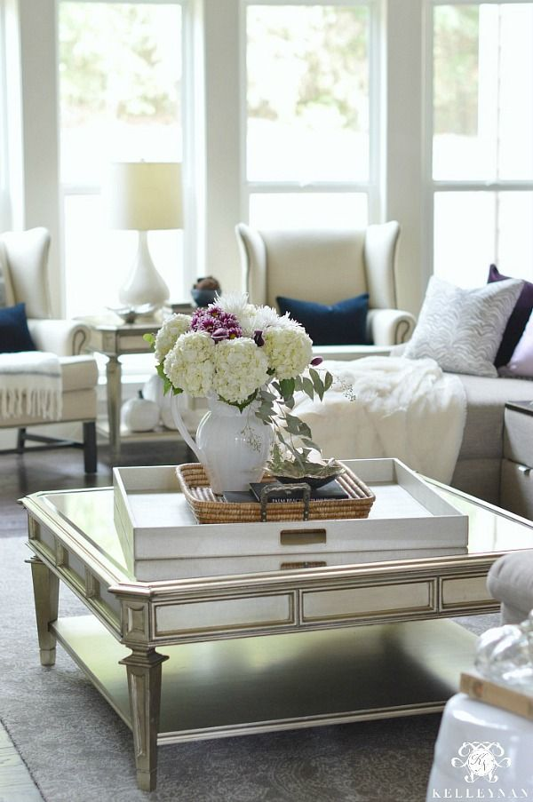 Coffee Table Decor Ideas Inspiration Coffee Table Decor Tray