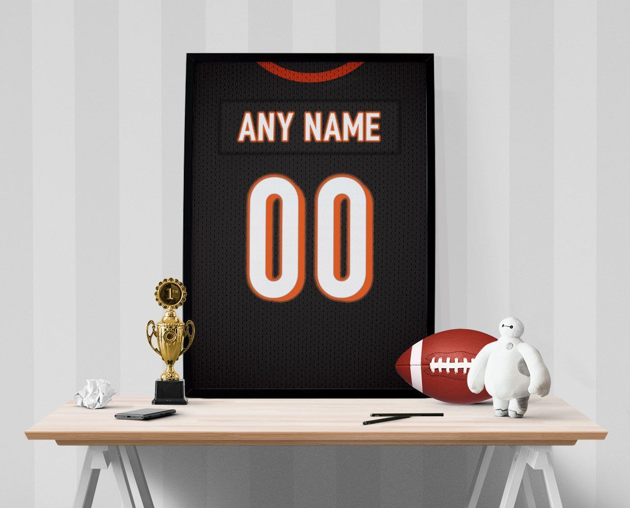 personalized bengals jersey