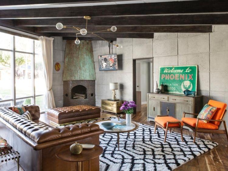 32 Design Vintage Design Wohnzimmer Ideen Und Inspiration Modern
