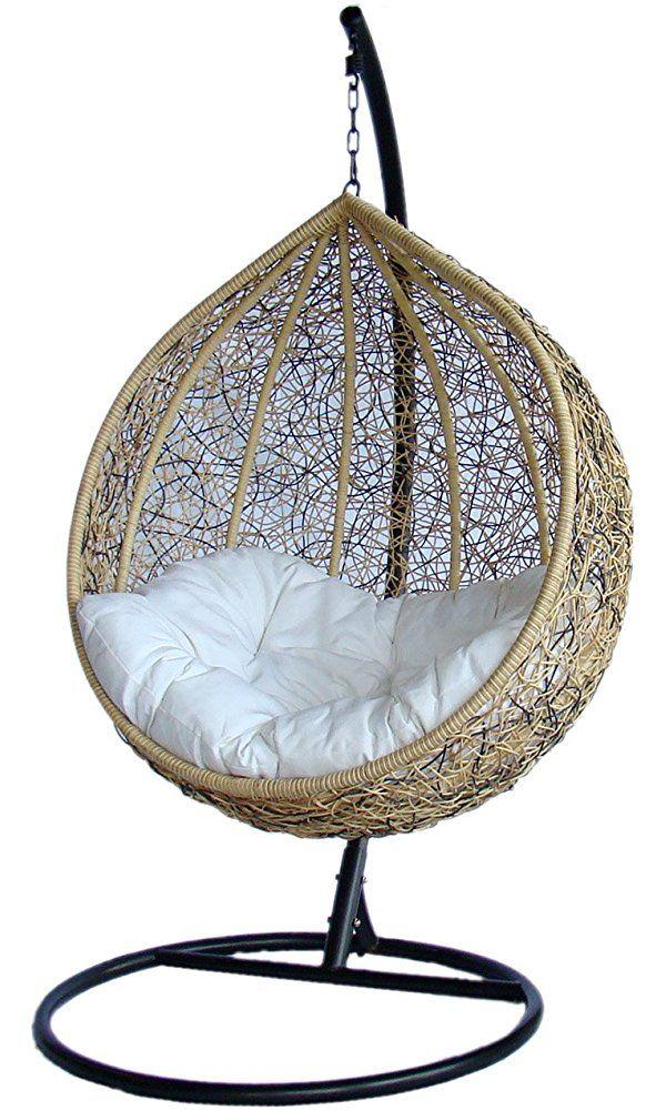 Trully Outdoor Wicker Swing Chair The Great Hammocks K003ab Best