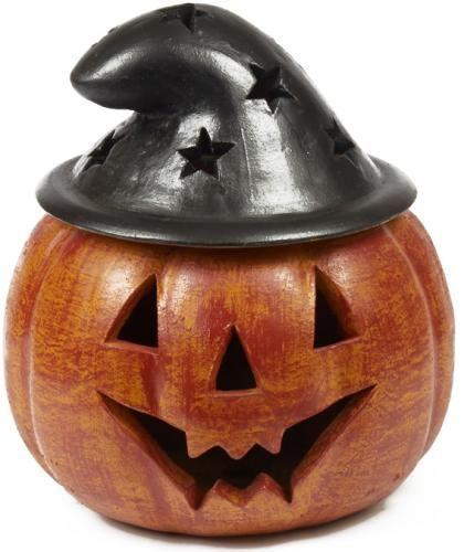 Halloween Ceramic Jack O Lantern Witch Hat 13 5 Inches Jack O Lantern Fall Home Decor Harvest Decorations