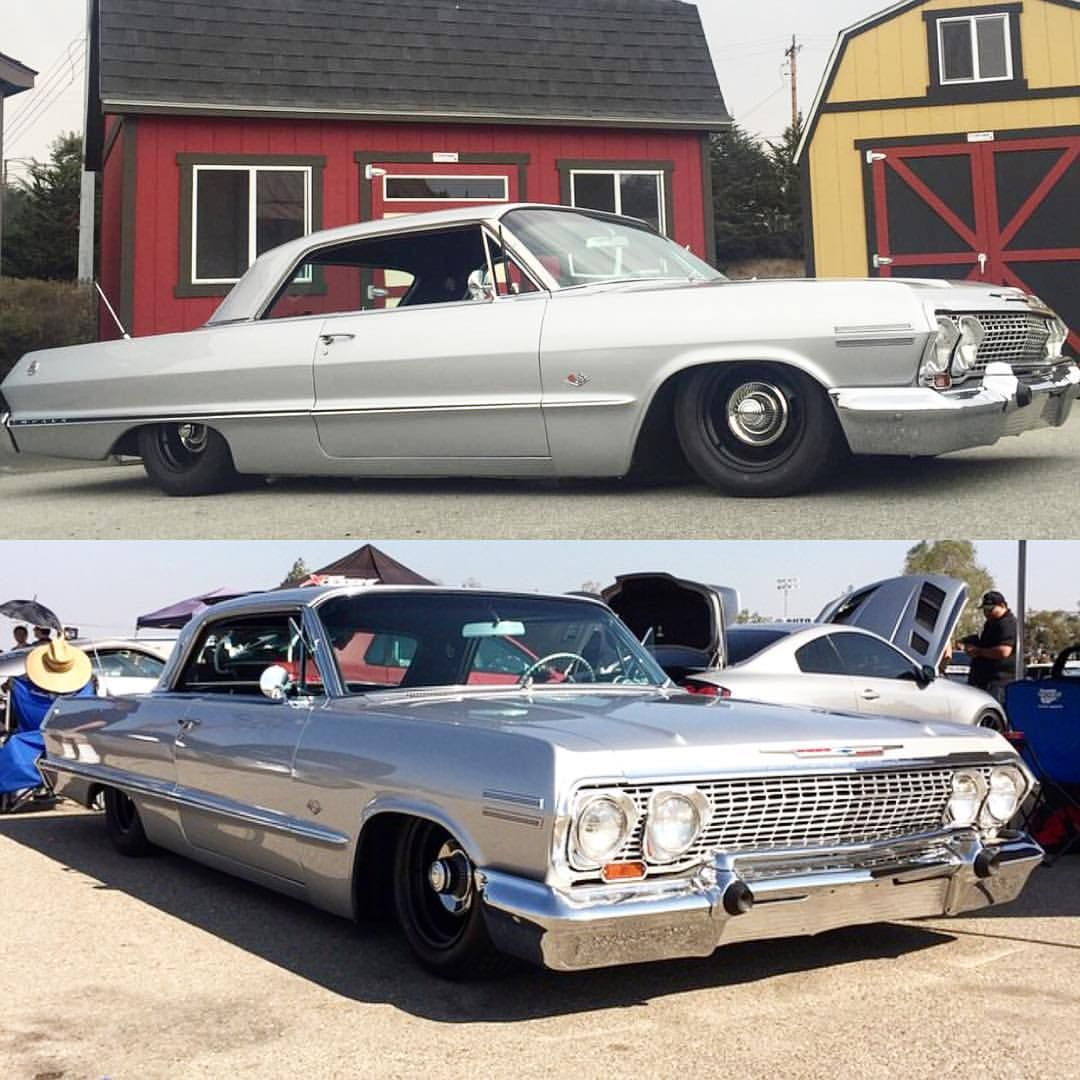 Classic Scene On Instagram Bagged 63 Impala Owner 63sstech Best C10s On Instagram Impala Classic Cars Trucks Chevy Impala