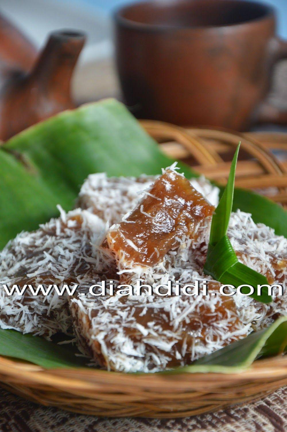 Kue Ongol Ongol Tepung Garut Resep Masakan Indonesia Makanan Manis Kue