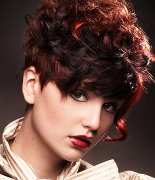 Groovy 1000 Images About Short Curly Hair On Pinterest Short Curly Hairstyles For Women Draintrainus