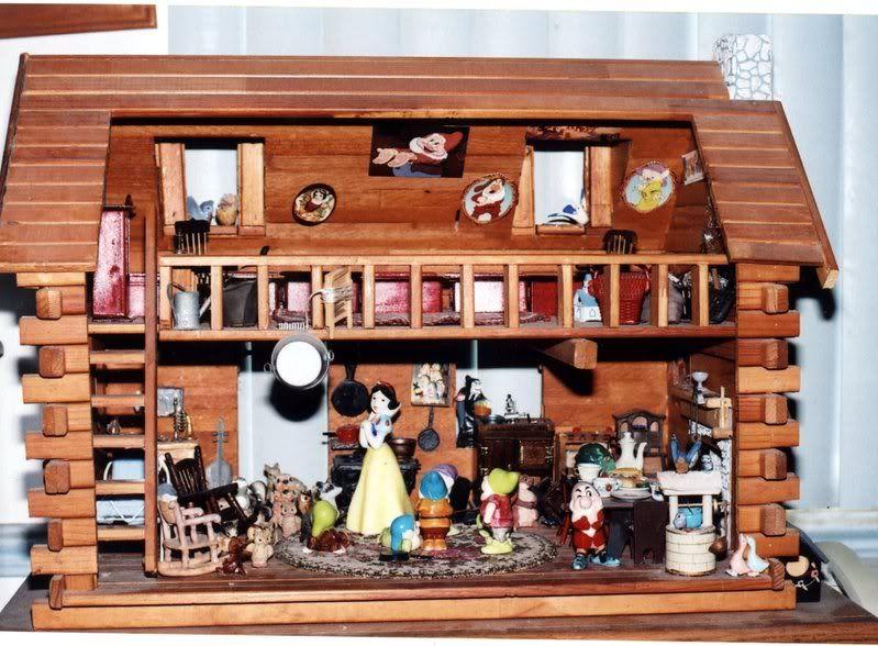 cottage diarama