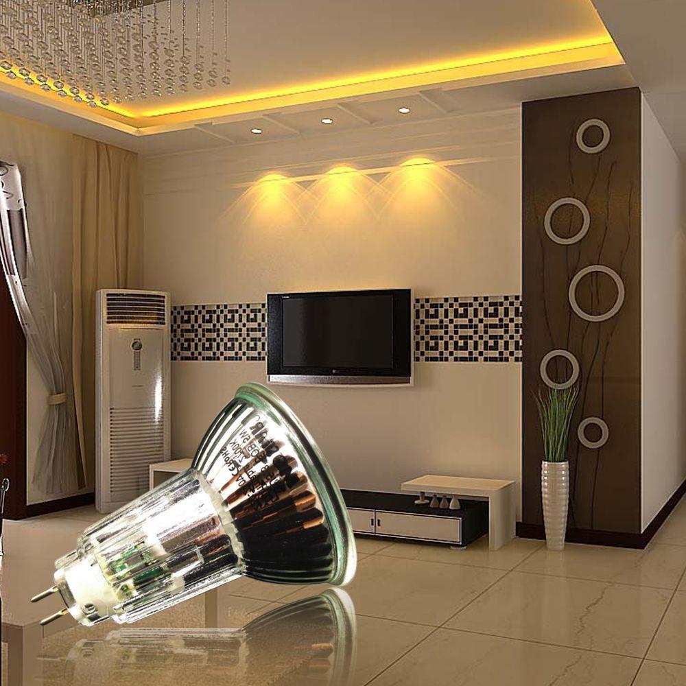 MR16 Lamp Holder AC220 240V 5W 520Lm LED Spot Light Suitable For Home Office Living Room Bedroom 3200K 4500K 6500K Color Temperature Selection