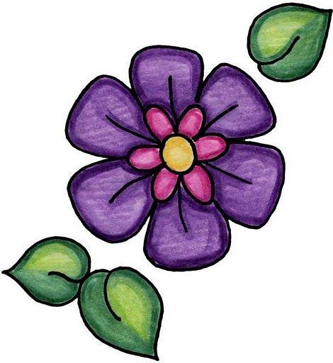 Flower Dibujo: Imagenes De Flores Y Mariposas:Imagenes Y Dibujos Para