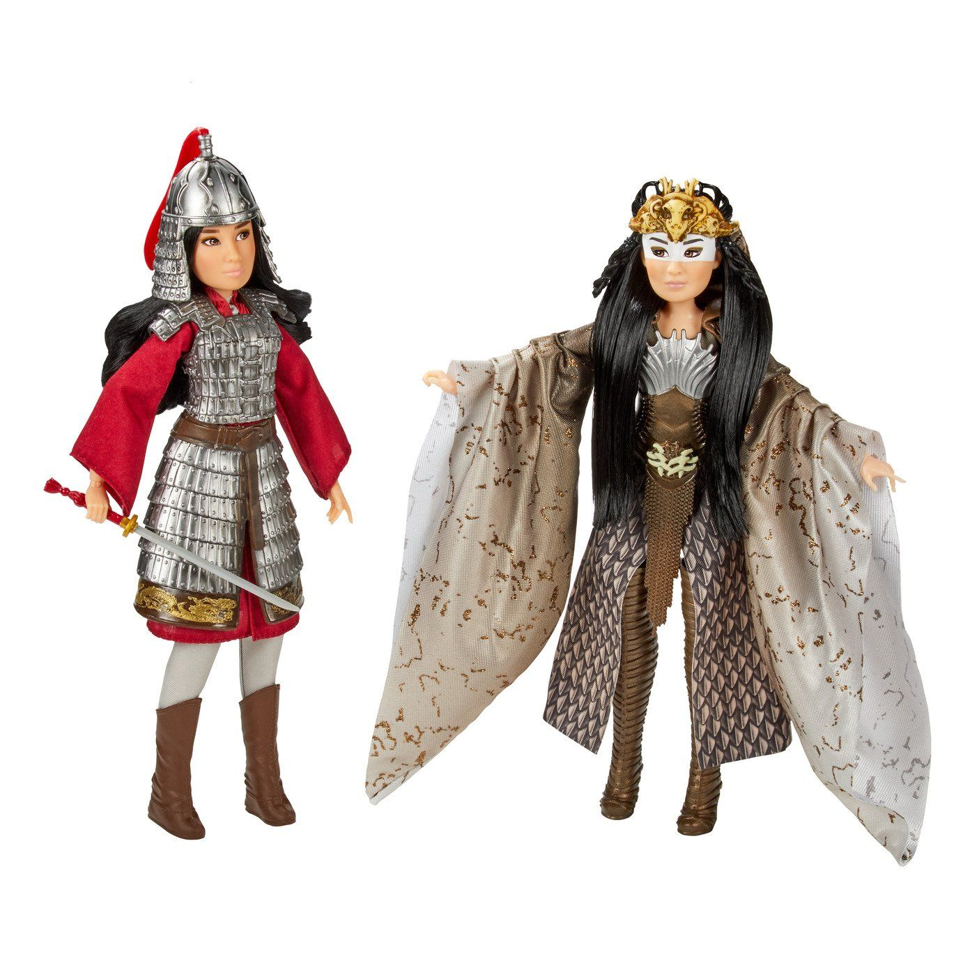 Buy Disney Princess Mulan And Xianniang Dolls With Accessories Dolls Argos In 2020 Mulan Movie Mulan Stunning Gowns