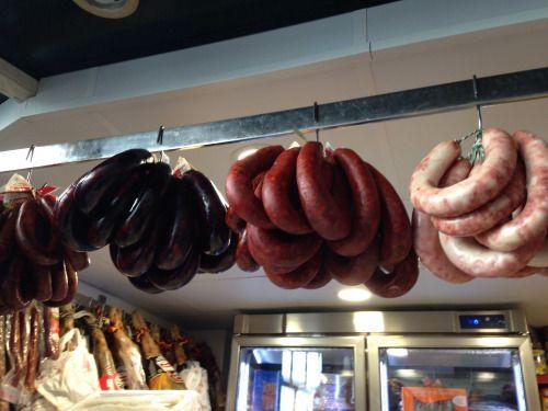 Morcilla and Chorizo Jerez, Spain