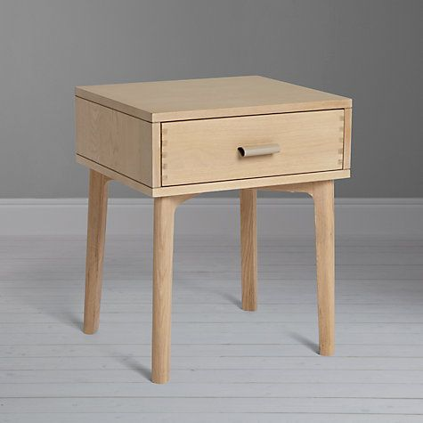 Best Design Project By John Lewis No 049 1 Drawer Bedside Table 400 x 300