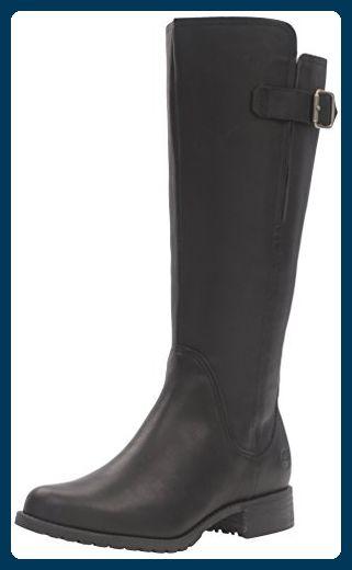 Timberland Banfield Wide Calf Damen US 8.5 Schwarz - Stiefel für frauen  (*Partner-