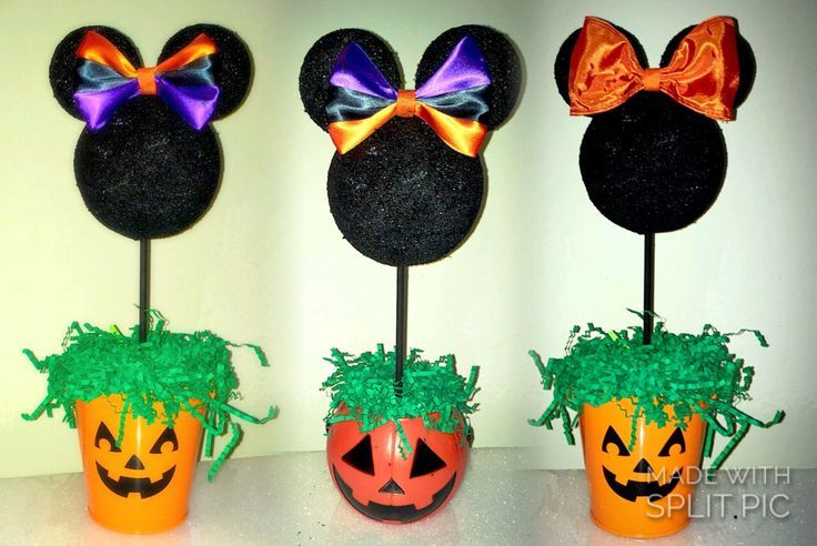 halloween decorations halloween party centerpiece pumpkin patch minnie mouse