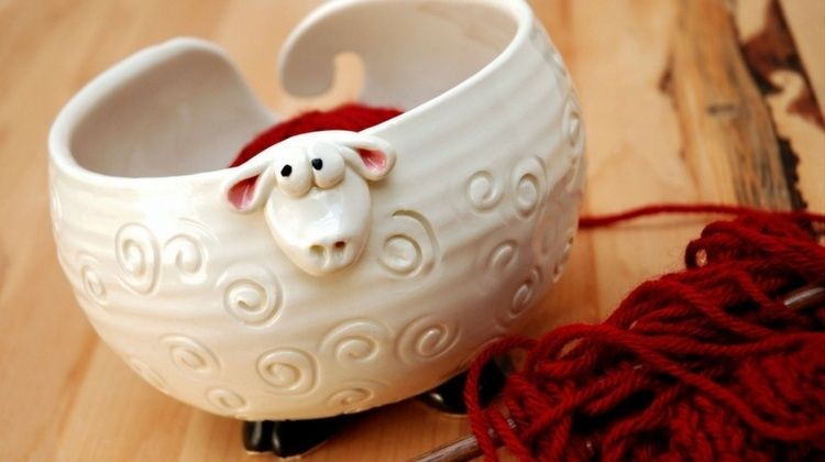 Clever Yarn Bowl Craft Ideas To Keep Your Knitting from Knotting