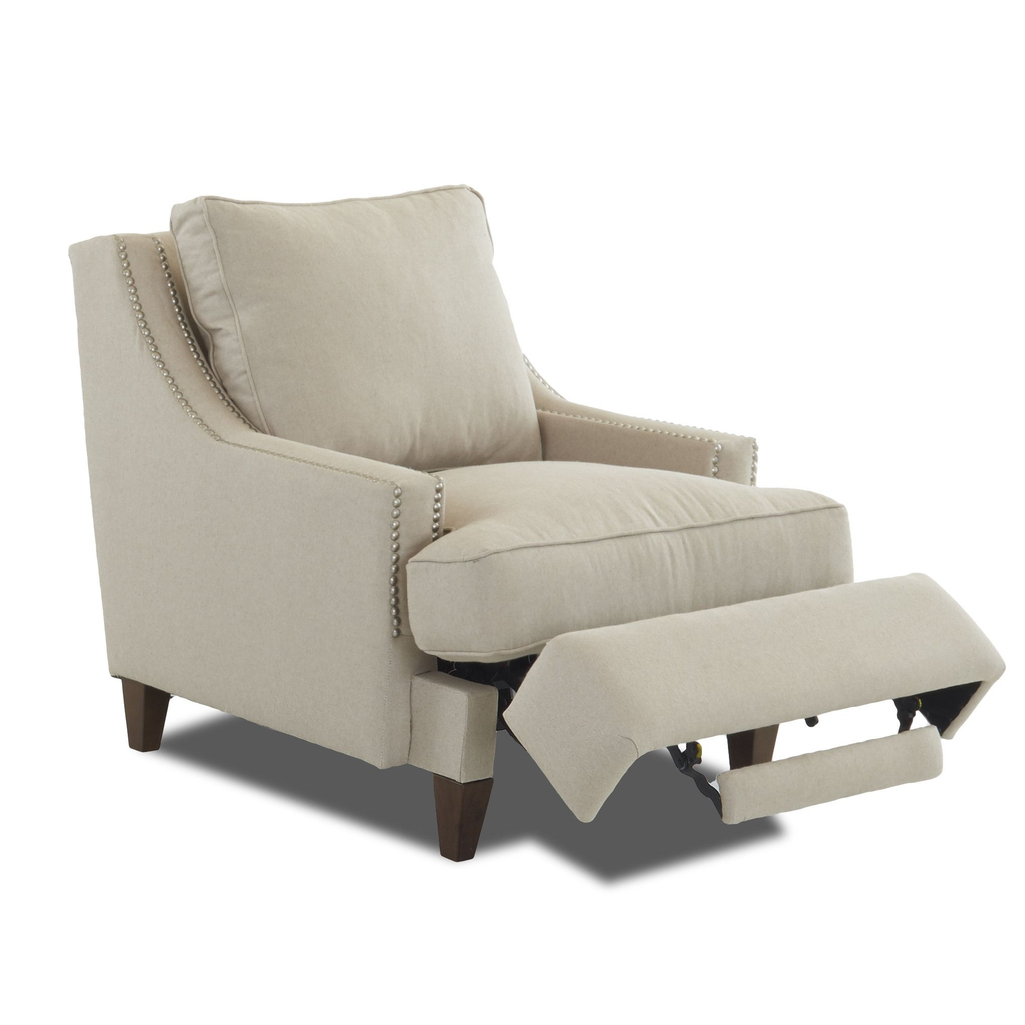 Wayfair Custom Upholstery Tricia Power Hybrid Reclining