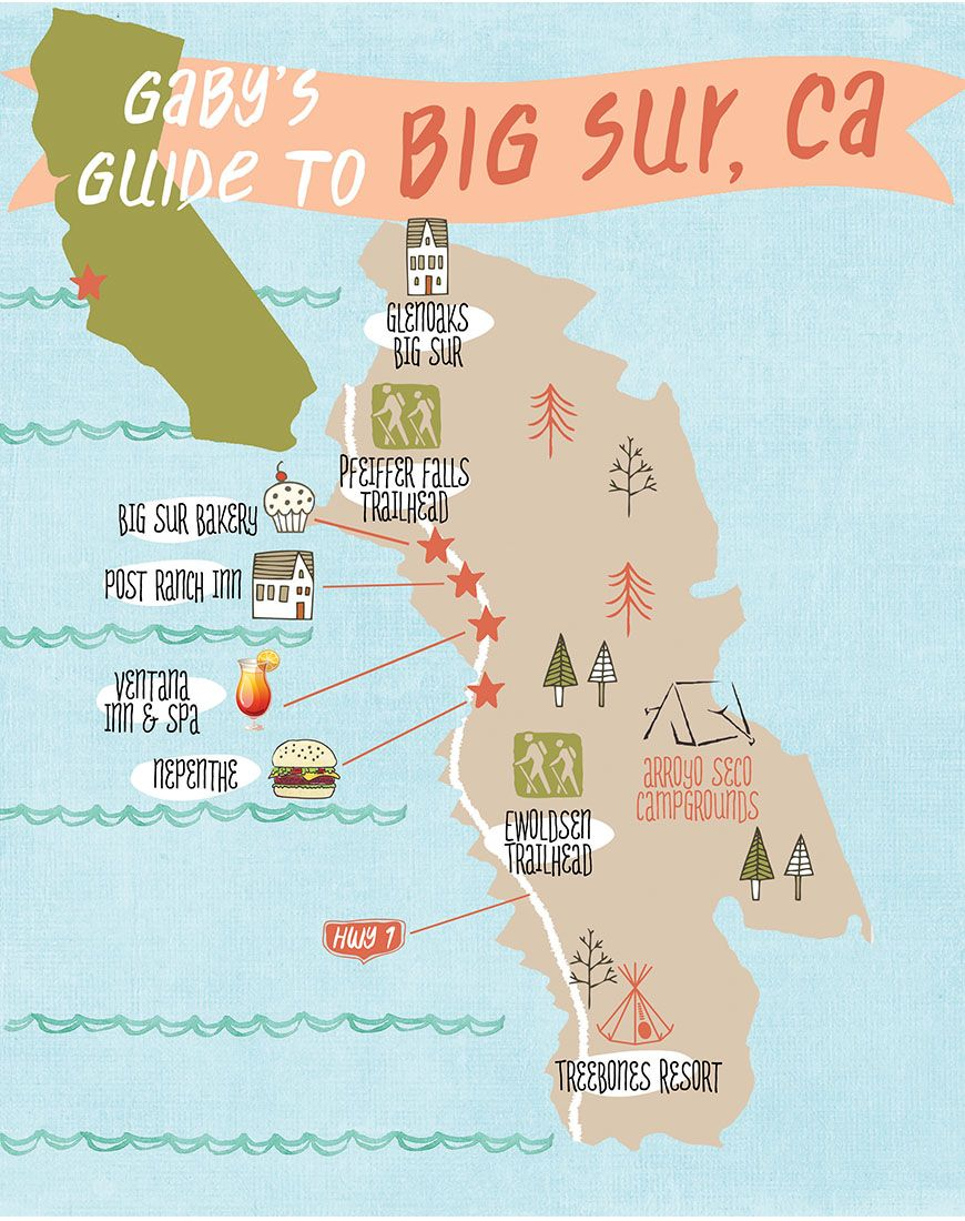 Gaby S Guide To Big Sur What S Gaby Cooking California Travel Road Trips Big Sur Trip Big Sur