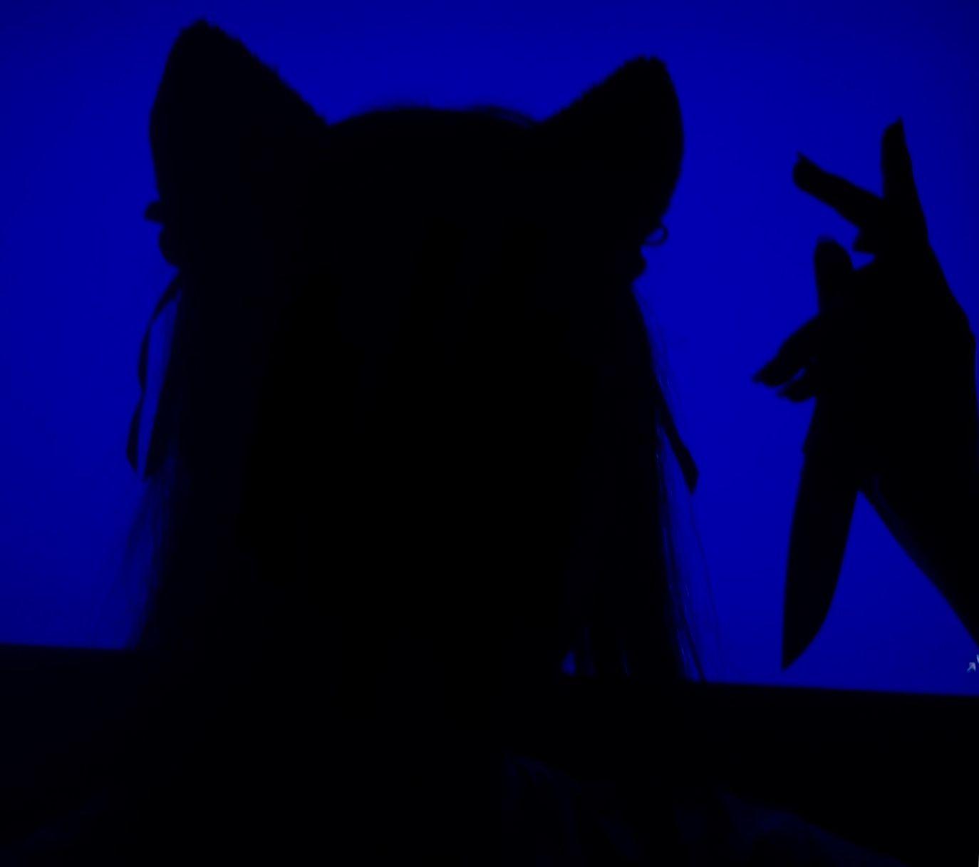 Blue Kitty Blue Aesthetic Grunge Blue Aesthetic Dark Blue Aesthetic Pastel