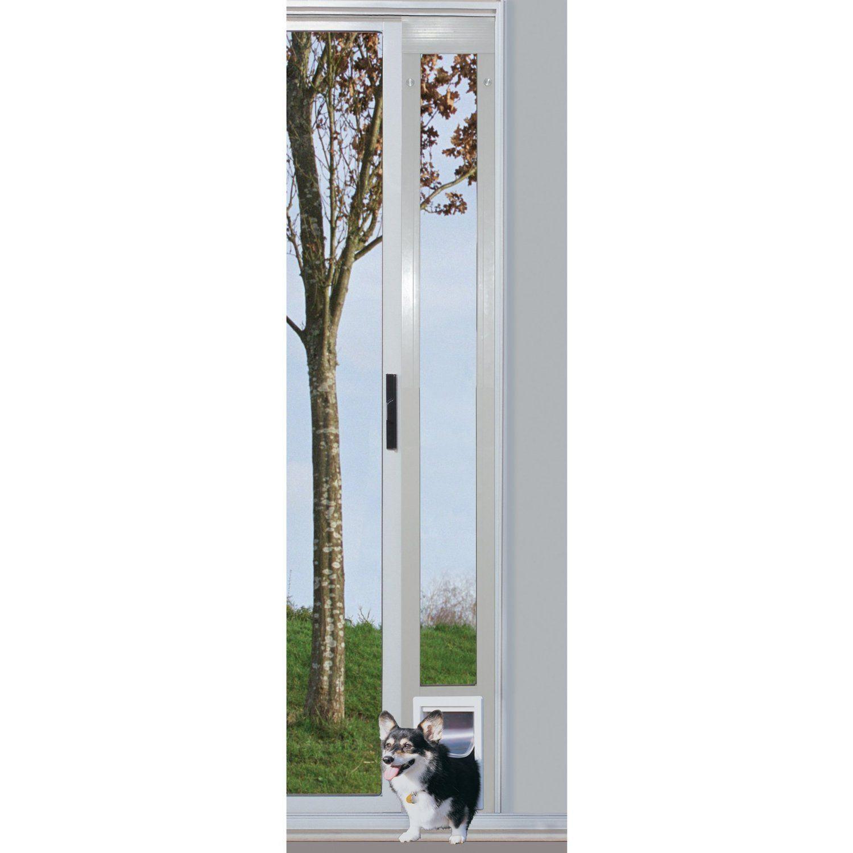 Vinyl dog door 79 tall white vinyl patio door with medium cat vinyl dog door 79 tall white vinyl patio door with medium cat door planetlyrics Gallery