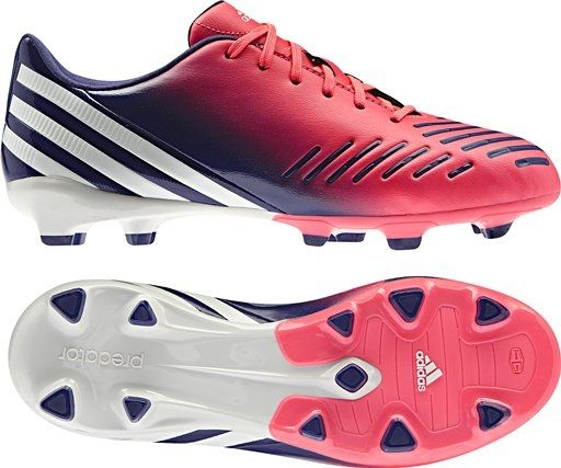 Adidas Women s Predator Absolado LZ TRX FG Soccer Cleats (Red Zest ... 474a9f516