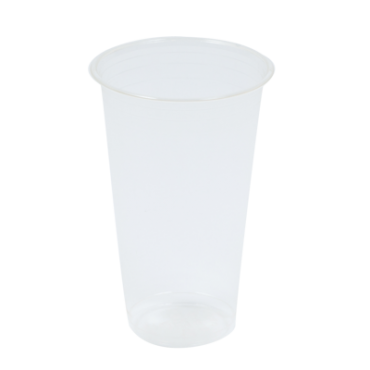 20 oz Compostable & Disposable PLA Corn Plastic Clear Eco