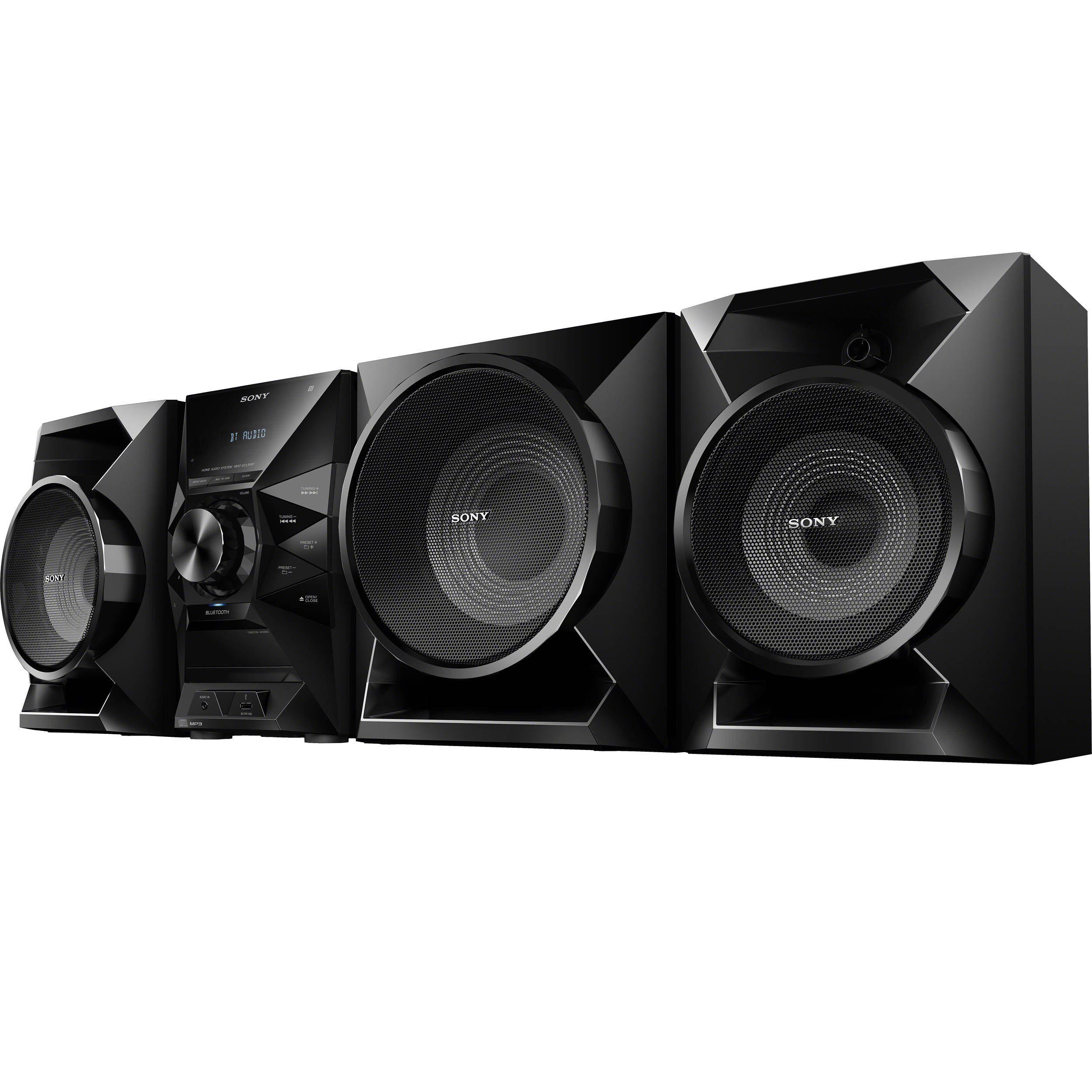 Sony MHCECL99BT HiFi Shelf System Wireless music