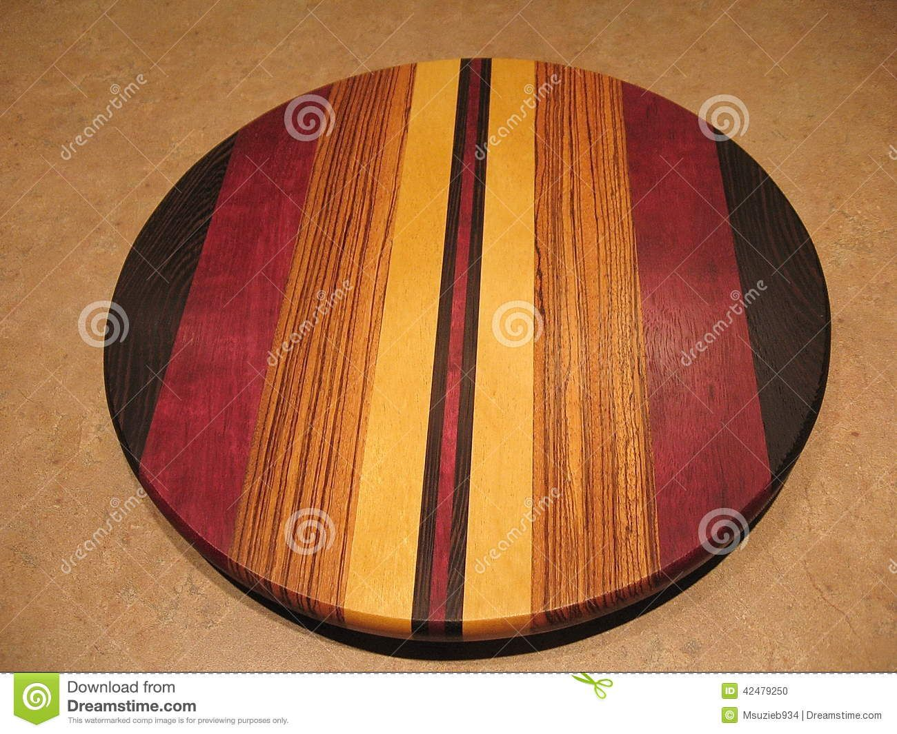 Wood lazy susans for tables - Tabletop Lazy Susan Turntable Round Tabletop Lazy Susan Made Of Four Species