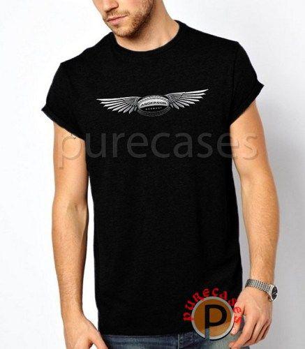 Black T Shirt ANDERSON GERMANY Lamborghini Gallardo Balbon Logo Men Tees Tshirt Printing