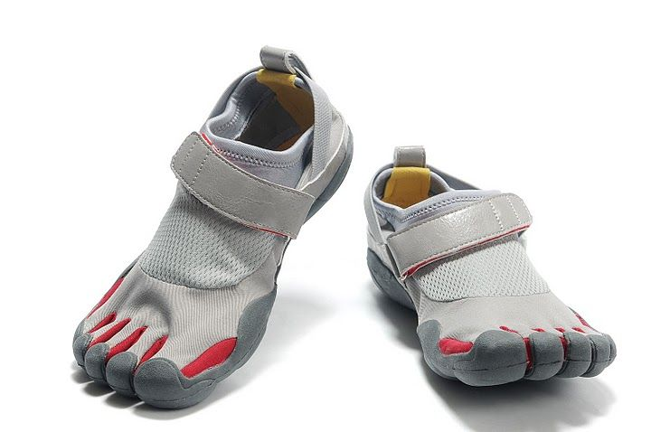 cheap for discount 2ea9b b99cb Mens Vibram Five Fingers Kso Shoes Grey Silver Red Yellow .
