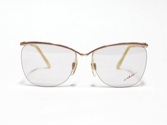 Half Rimmed Vintage Eyeglasses by Atrio made in Germany, 1980s