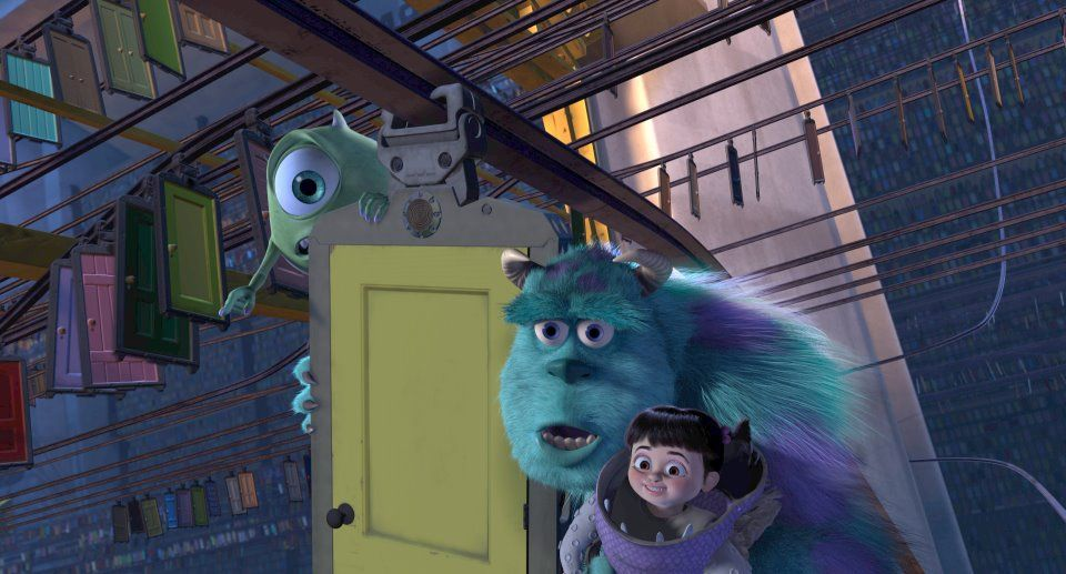 Randall Say Hello To The Scream Extractor Mike Hello Hey Where Are You Going C Mon We Ll Talk We Ll Have A La Monsters Inc Pixar Theory Disney Colors