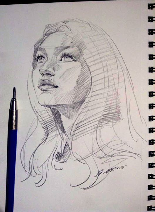 Pencil portrait mastery daily sketch 4082 by nosoart on deviantart discover the secrets of drawing realistic pencil portraits