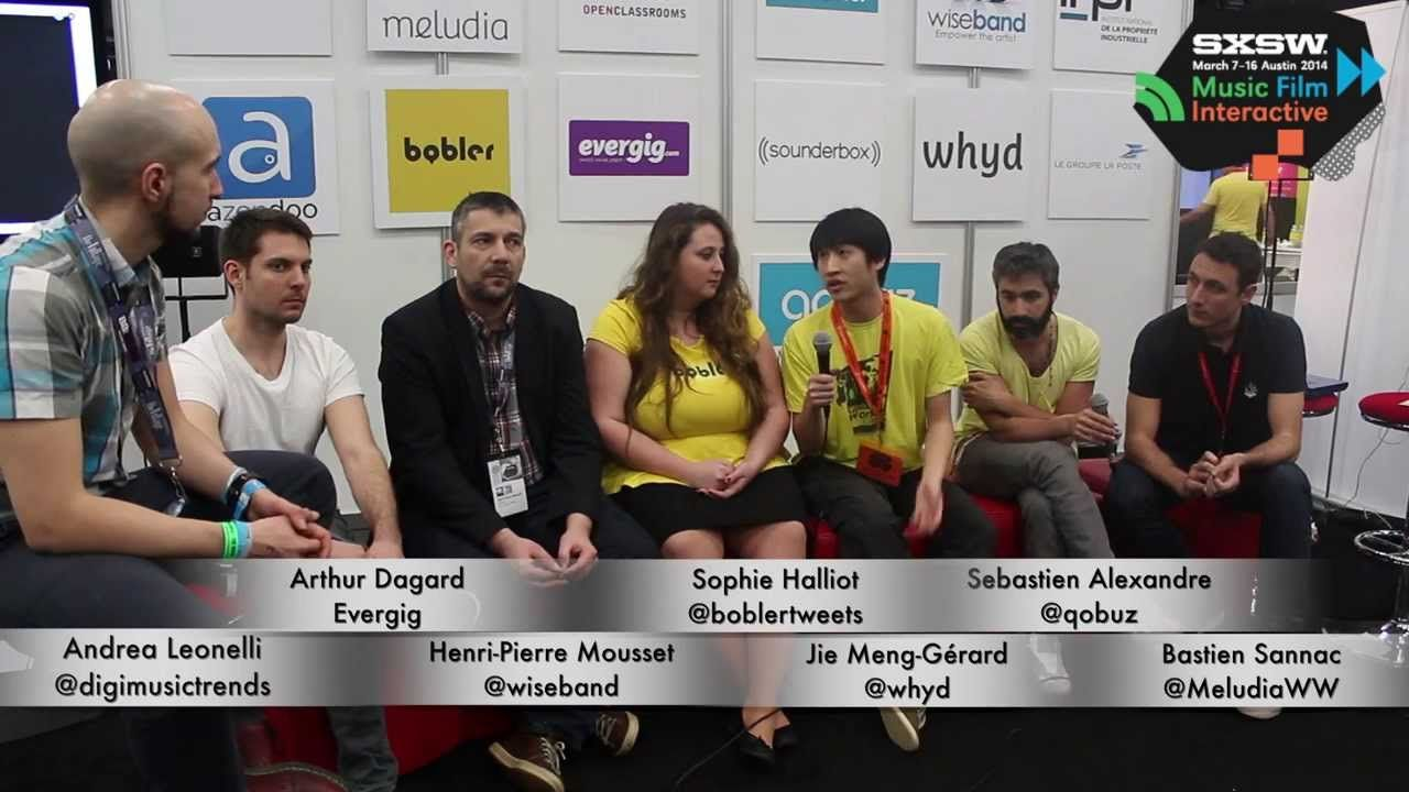 French Tech Club at SXSW 2014, all the French Music Tech…