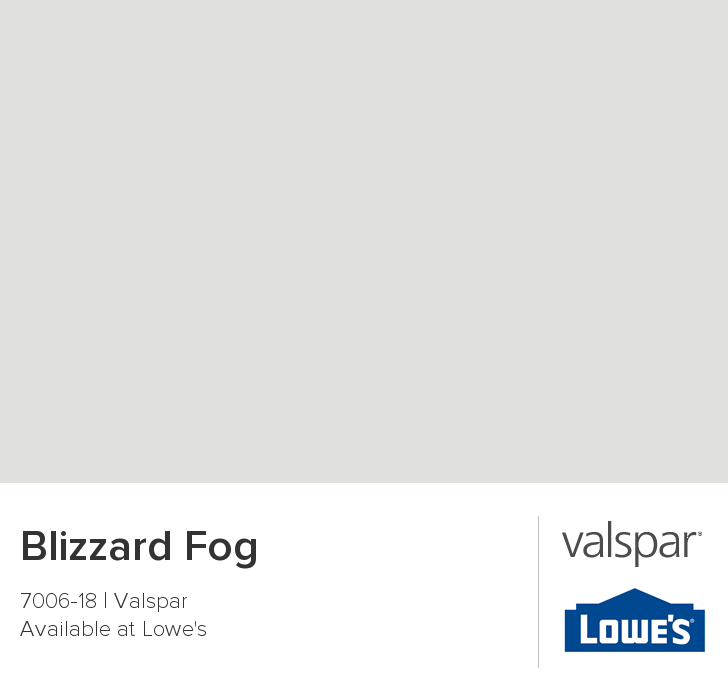 Blizzard Fog From Valspar Bedroom Update Pinterest Craft Room Design Gray Paint Colors