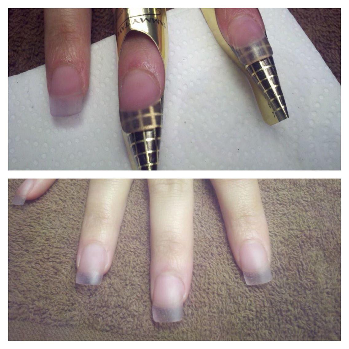 Sculpted acrylic nails Sculpted nails, Nails