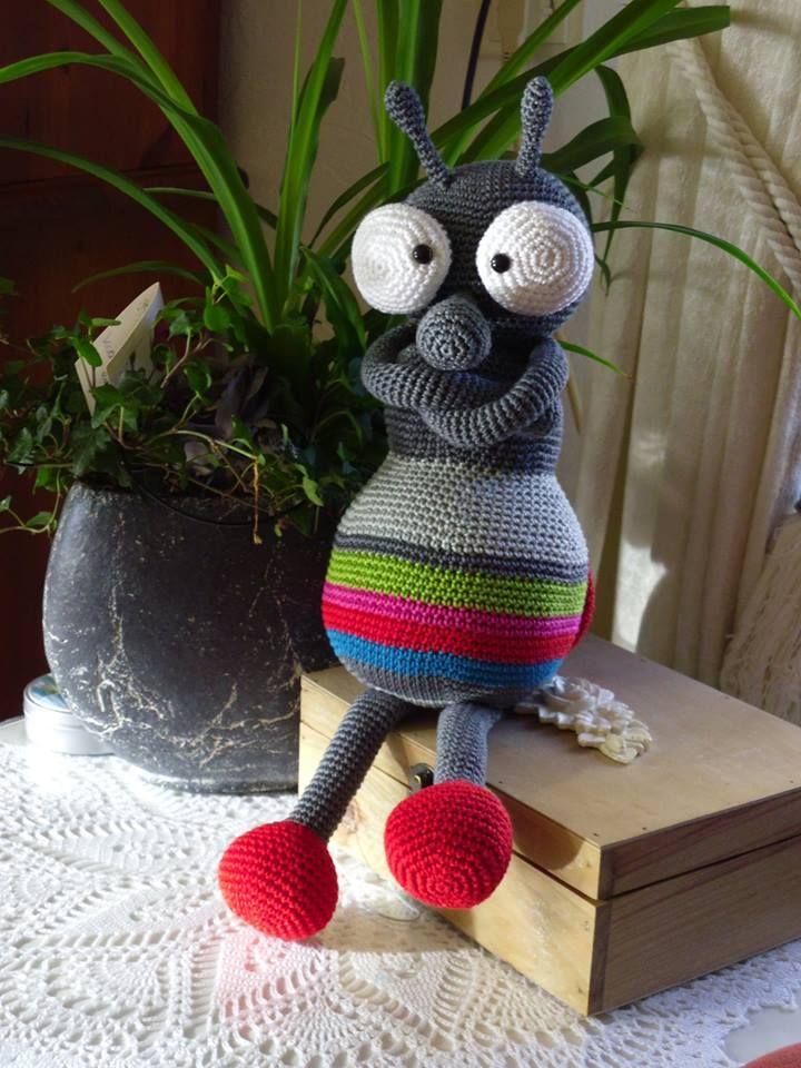 stip & haak - Crochet bug. (Inspiration). | Amigurumi | Pinterest ...