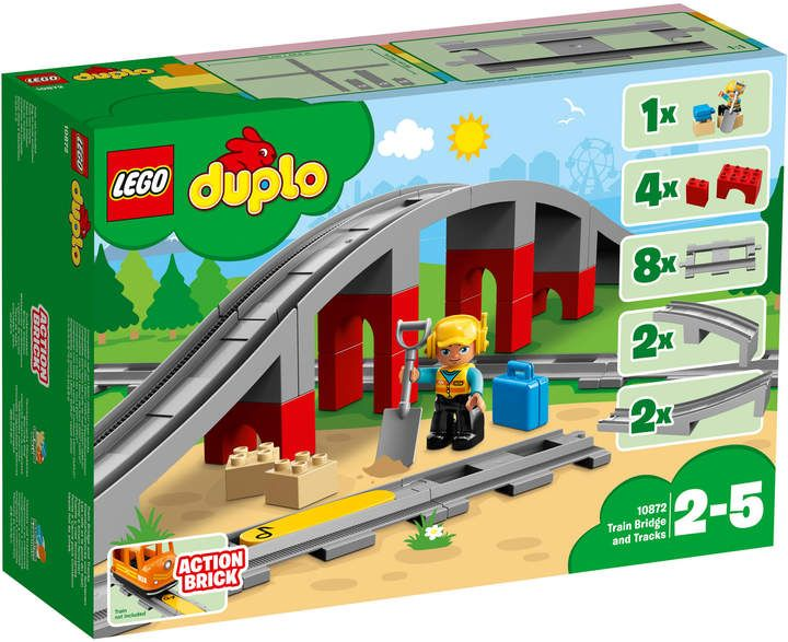 Duplo 10872 Duplo Train Bridge And Tracks Skillsearlyconstruction