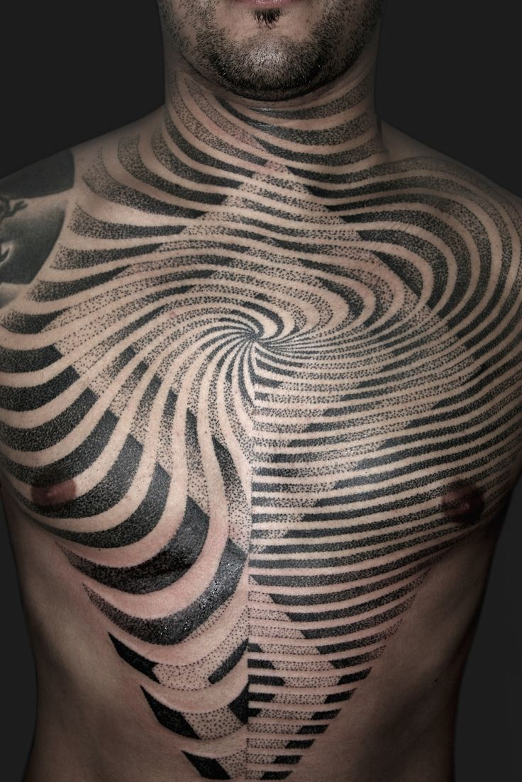 unique Geometric Tattoo - 30 Labirint Tattoos - Meanings, Photos, Designs for men and women