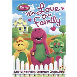 Barney We Love Our Family Dvd Walmart Com Barney Friends Barney Friends Poster