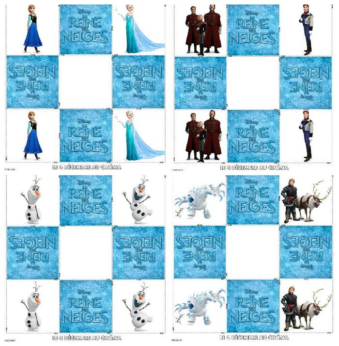 5 activit s la reine des neiges imprimer reine des neiges pinterest reine des neiges - Jeux gratuit la reine des neige ...