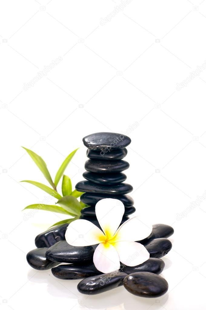 resultado de imagen de piedras negras zen - Piedras Zen
