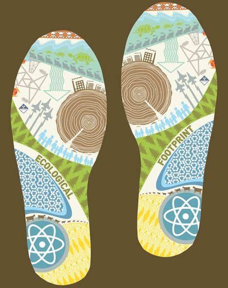 the ecological footprint: taking the environmental problem personally essay These days, it's more important than ever to watch how your actions affect the world we live in help save the world, save money and your health with these 15 ways to reduce your environmental footprint 1 skip bottled water bottling water is an incredible waste of our planet's limited.