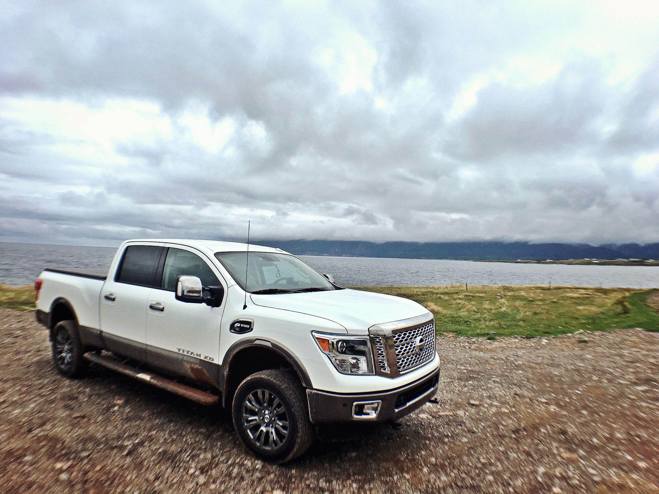 Take a back road Cape Breton Island Nissan titan, Cape