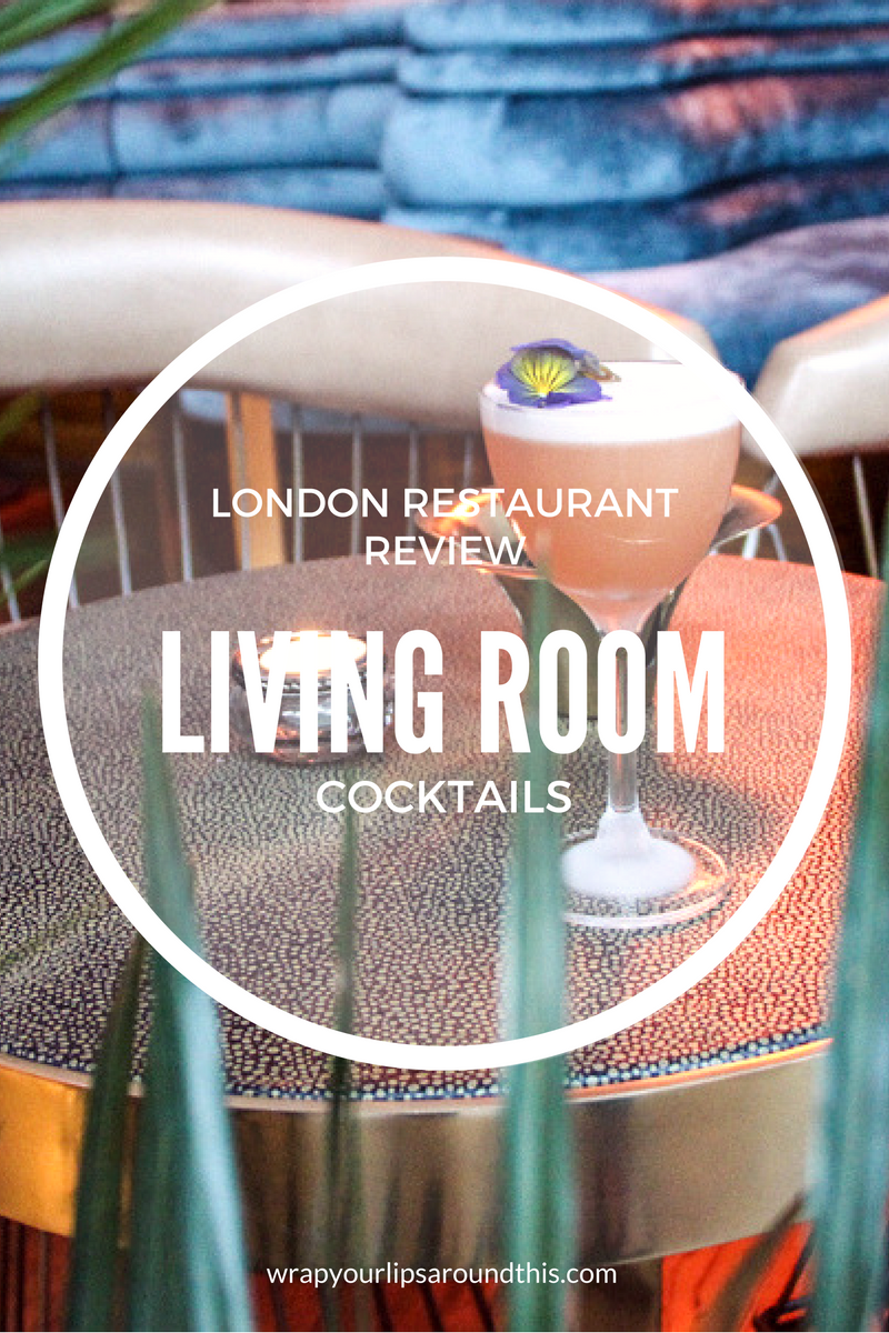 Cocktails At The Living Room Bar With Executive Chef And All Round Rock Star Tom Sellers