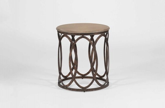 Superb Gabby Gabbert Side Table SCH 270190 Aged Brass White Horn 18 W 18D 23.5H    See More At: Http://gabbyhome.com/products/gabbert Transitional Round Eu2026