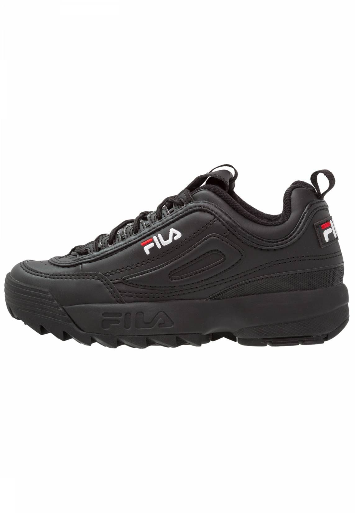 innovative design b1ca1 fdb11 Fila. DISRUPTOR LOW - Zapatillas - black. Suela fibra sintética. Forma del