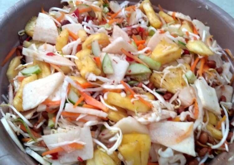 Resep Asinan Buah Sayur Oleh Utami Kusumadewi Resep Sayuran Buah Resep