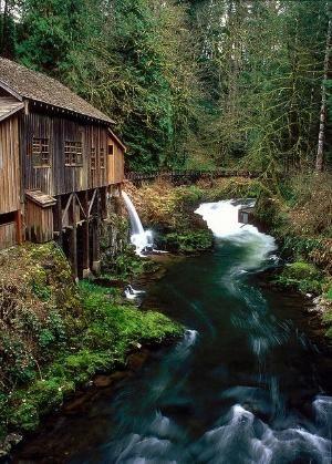 Cedar Creek Grist Mill   Washington by imogene
