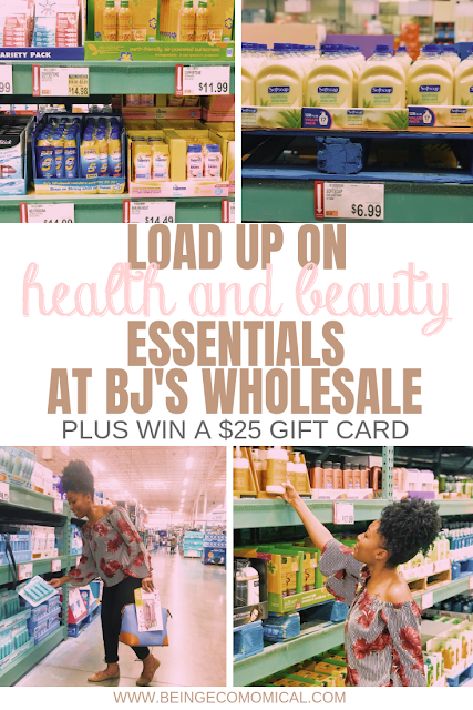 Load Up On Health & Beauty Essentials At BJ's Wholesale Club #beautyessentials