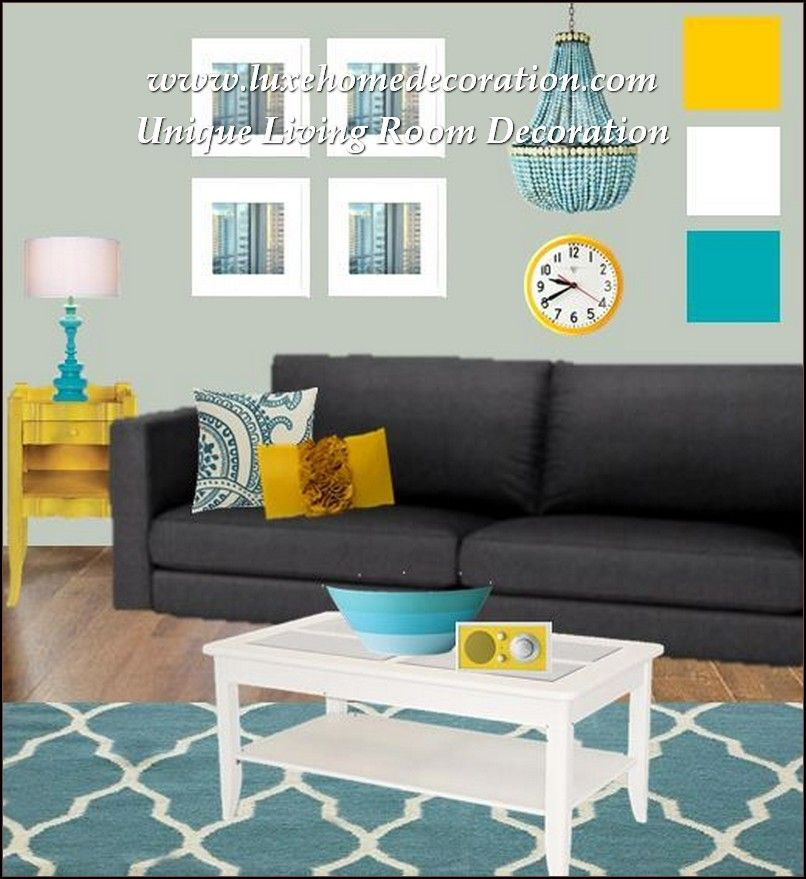 Decorate Your Home Like A Pro With These Tips Luxe Home Decoration Living Room Turquoise Teal Living Rooms Grey And Yellow Living Room