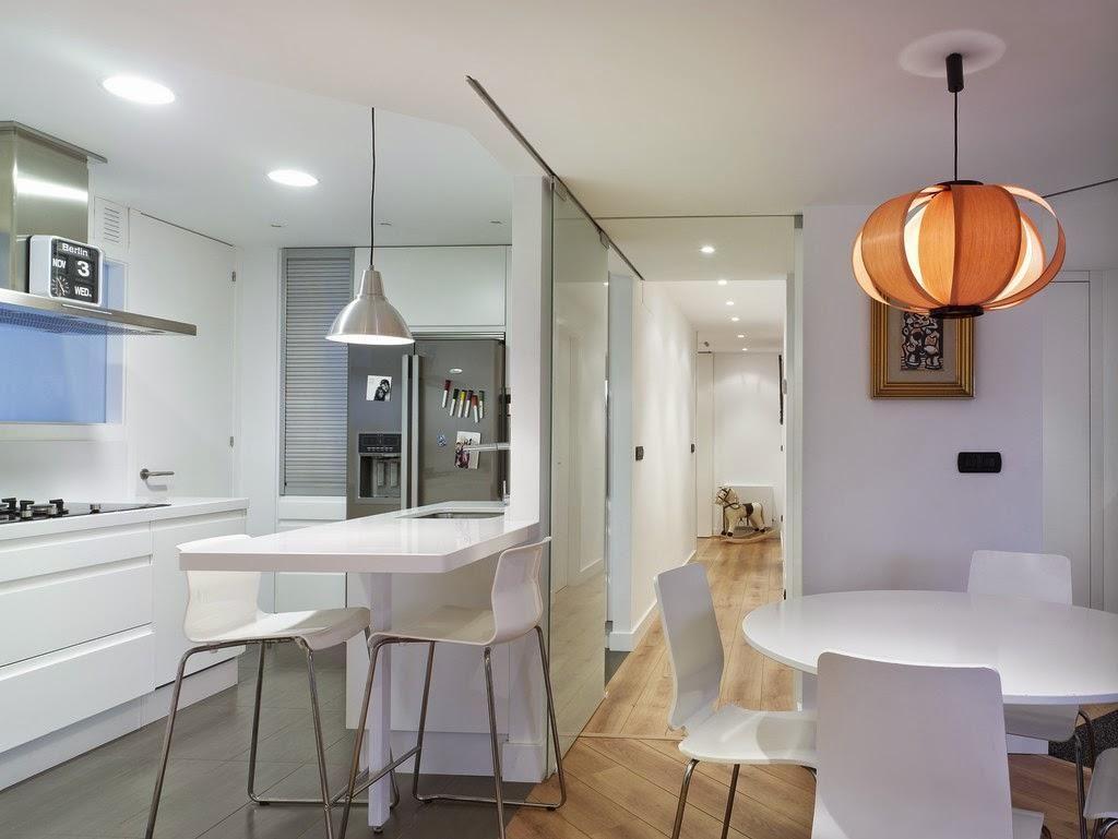 Ideas para zonas de cocina abiertas al sal n cocinas - Ideas para decorar el salon de casa ...