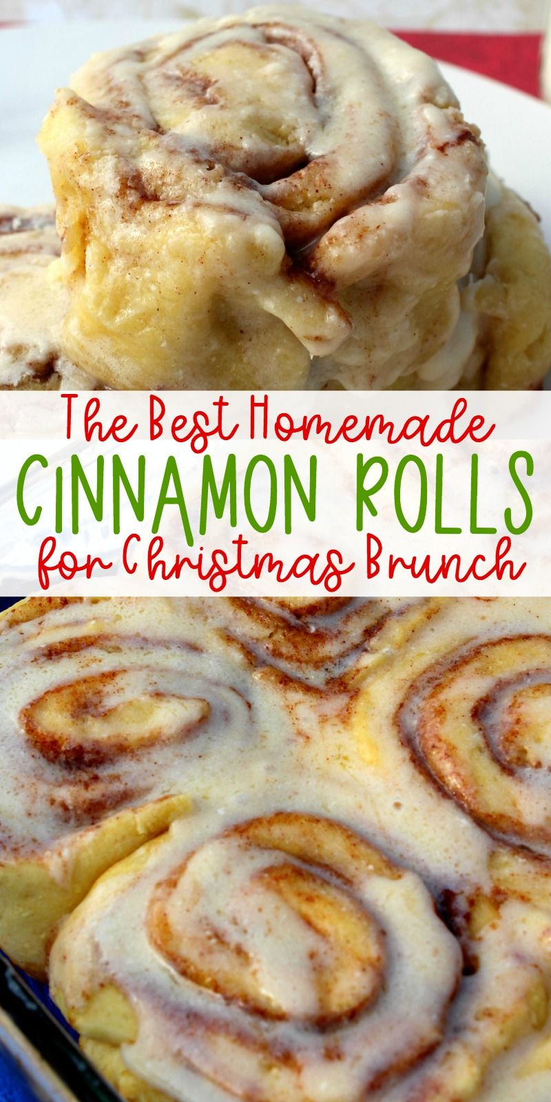 Photo of Homemade Cinnamon Rolls for Christmas Brunch